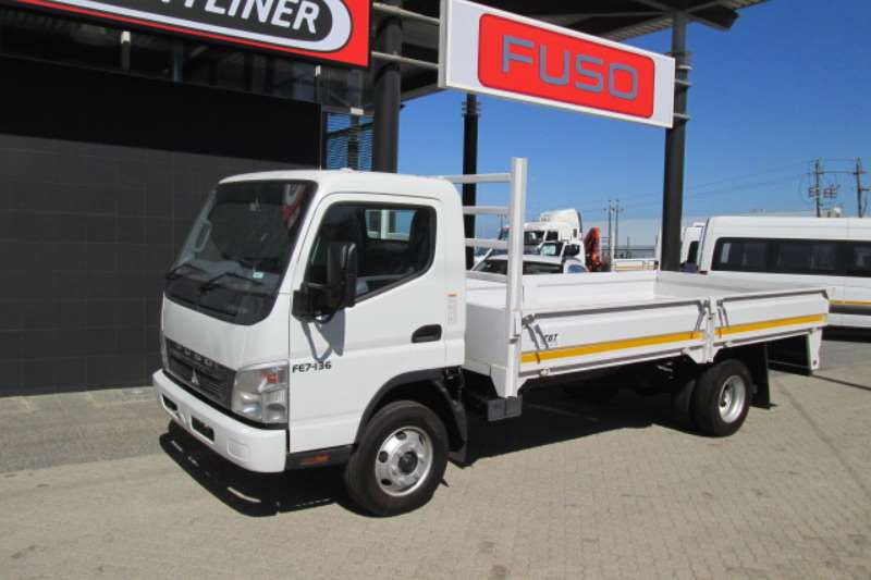 Fuso Dropside Canter FE7-136TD Truck