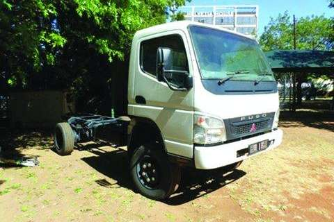 Truck Fuso FG6186TD 4x4 Freight Carrier Chassis Cab Only- 2016
