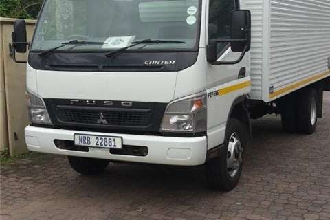 Fuso Fuso Canter with volume b Truck