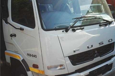 Truck Fuso Fuso FK13-240 van body 2014
