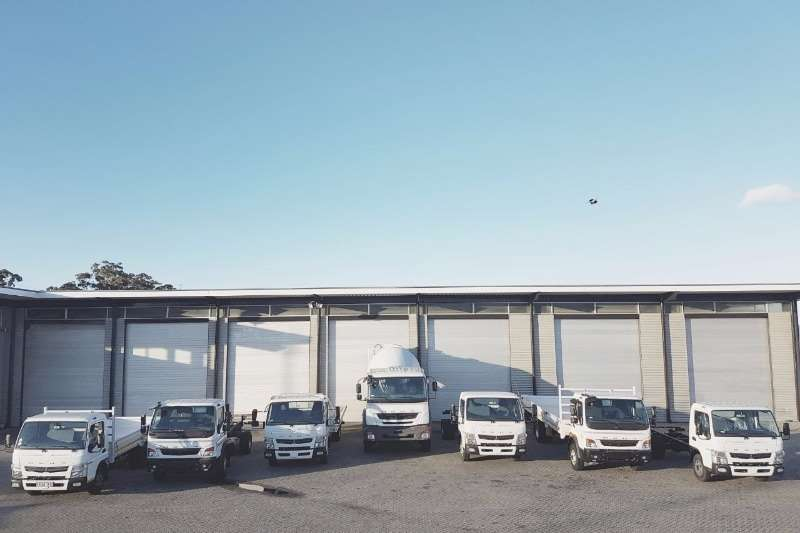 Fuso Range of Fuso's on Special Truck