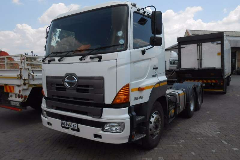 Truck Hino Chassis Cab HINO 2845 6X4 TRUCK TRACTOR 2015
