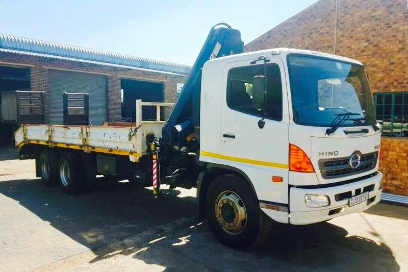 Truck Hino Crane Truck 500 1626 2013