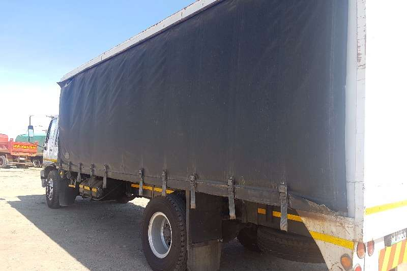 Truck Hino Curtain Side 16 177   366  ADE  TURBO 1997