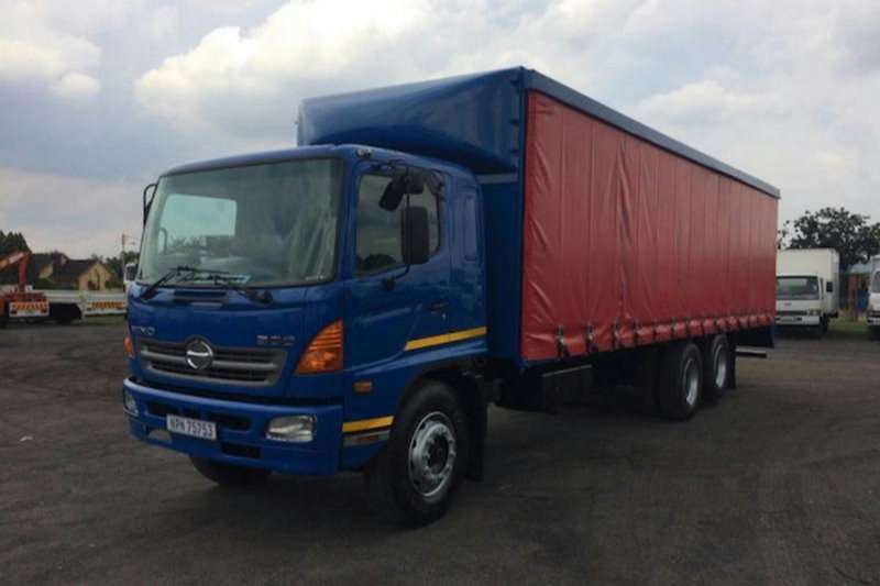 Hino Curtain side HINO 500 SUPER F  1626 D/DIFF LIFT AXCELL (BLUE) Truck