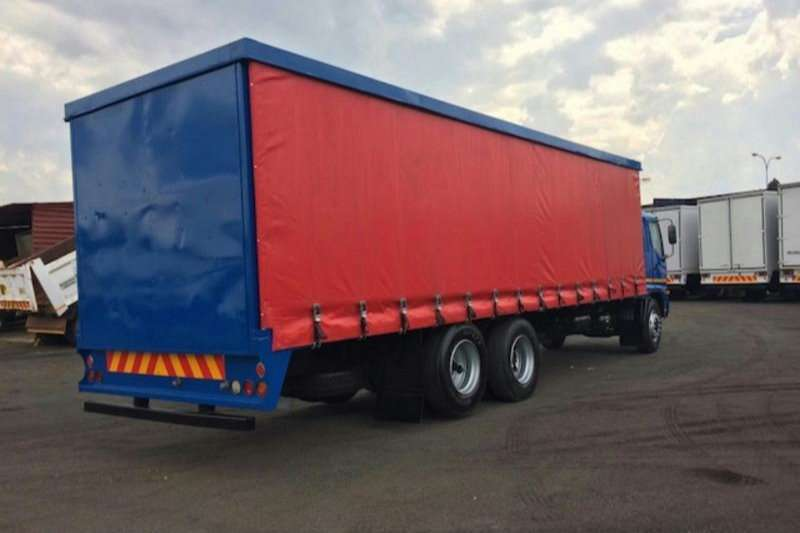 Hino Curtain side SUPER F  1626 D/DIFF LIFT AXCELL (BLUE) Truck