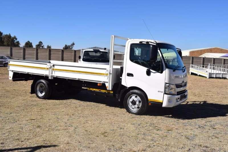 Hino Dropside 2013 300 814 4TON Truck