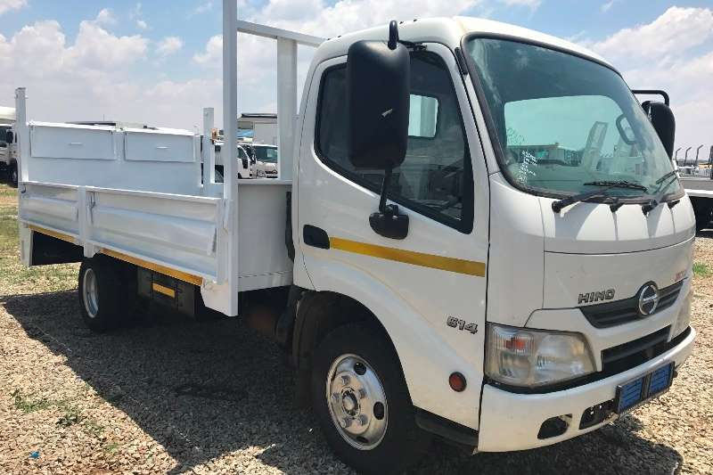 Hino Dropside Hino 300 614 tail lift plus new drop sides Truck