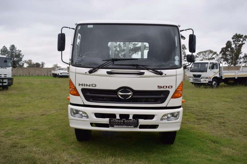 Hino Dropside HINO 500-1626/With Tag Axle Truck
