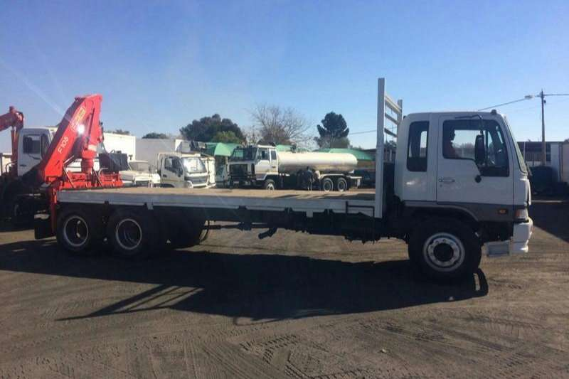 Hino Flat deck FLATBED RANGER WITH CRANE Truck