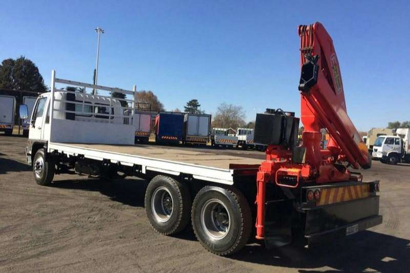 Hino Flat deck HINO FLATBED RANGER WITH CRANE Truck