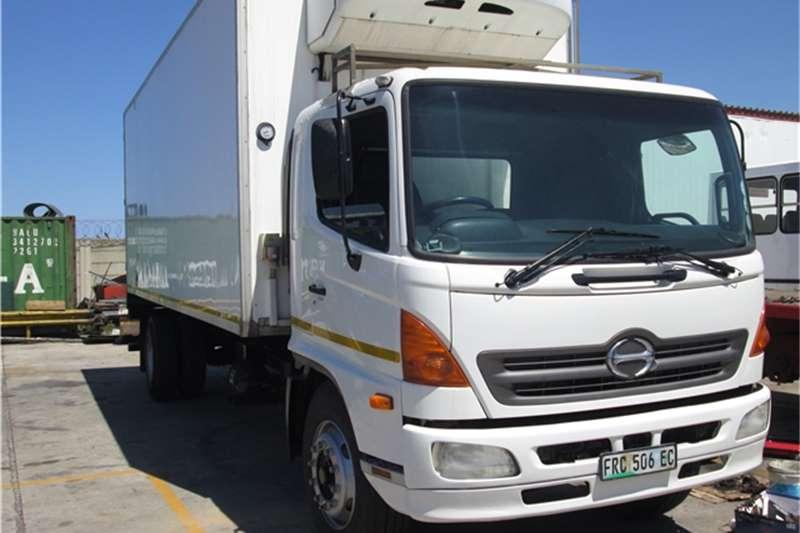 Truck Hino Fridge Truck 2005 Hino 15258 Reefer 2005