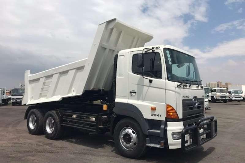 Hino Tipper HINO 700 2841 TIPPER 10CUBE Truck