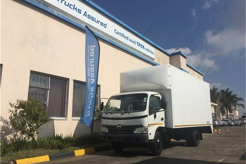 Hino Van body HINO 300 814 VAN BODY 4T - TRUCKS ASSURED VAAL Truck