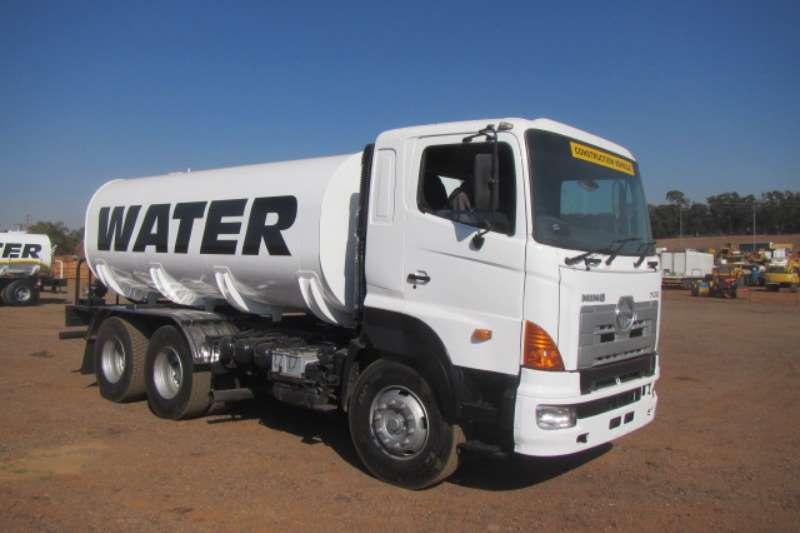Truck Hino Water Tanker Hino 700 57-450 2005