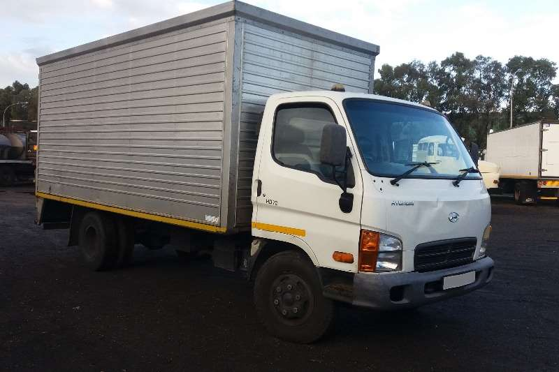 Truck Hyundai Volume Body HD72 2011