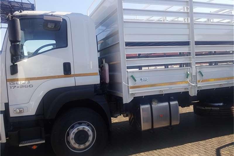 Isuzu Cattle body FXR 17-360 Cattle Body Only Truck