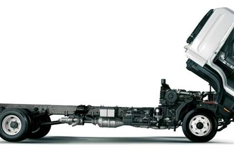 Isuzu Chassis cab FRR 600 AMT Truck