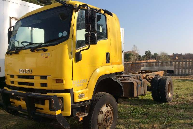 Isuzu Chassis cab FTS750 4x4 Chassis Cab Truck