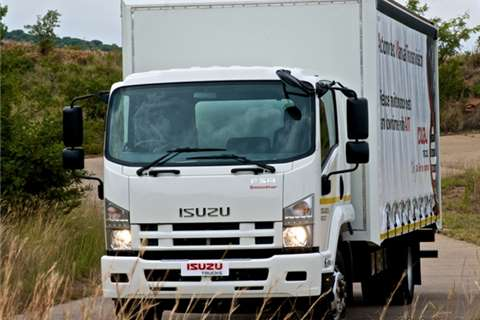 Isuzu Chassis cab NEW FSR 800 Manual Truck