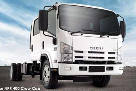 Isuzu Chassis cab NEW NPR 400 Crew Cab AMT Truck