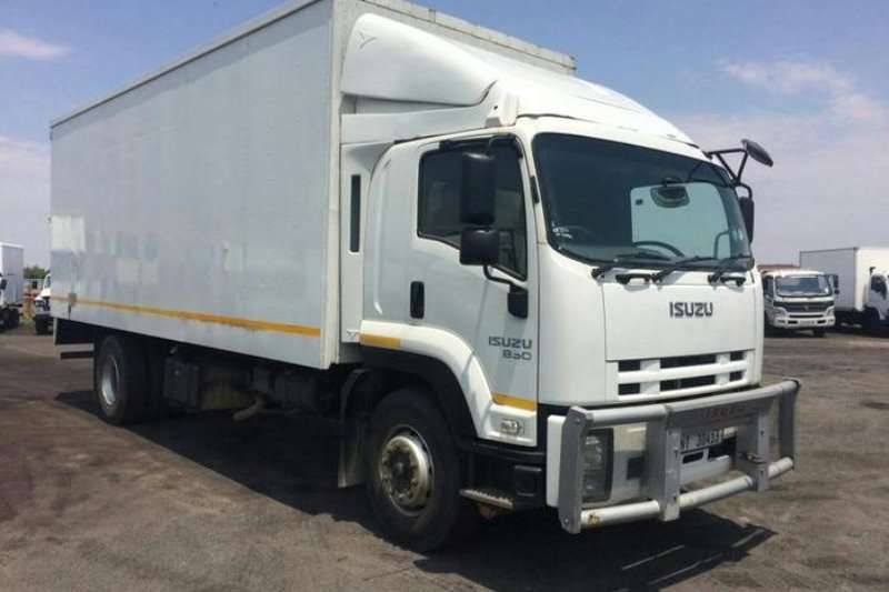 Truck Isuzu Closed Body ISUZU FTR 850 BOX BODY 2012