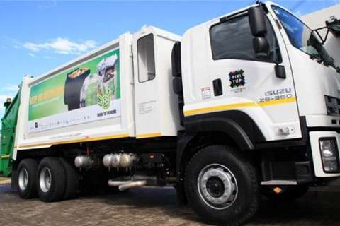 Isuzu Compactor NEW FXZ 28 360 Compactor Truck