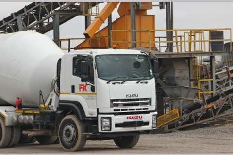 Isuzu Concrete mixer NEW FXZ Mixer Truck