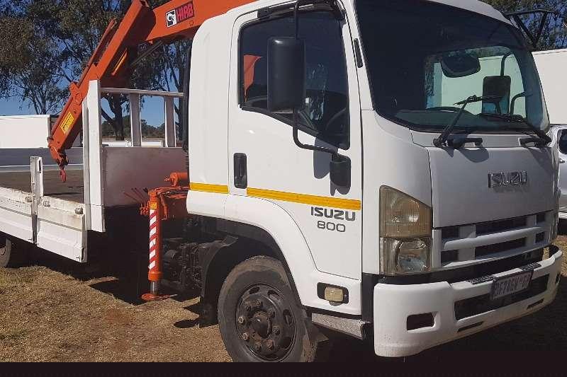 Isuzu Crane truck 2011 Isuzu FSR 800 Crane Truck Truck