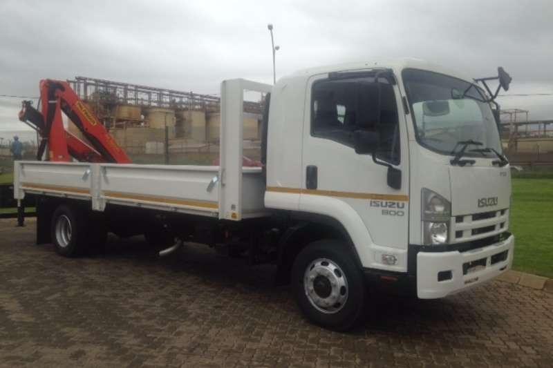 Isuzu Crane truck FSR 800 Truck
