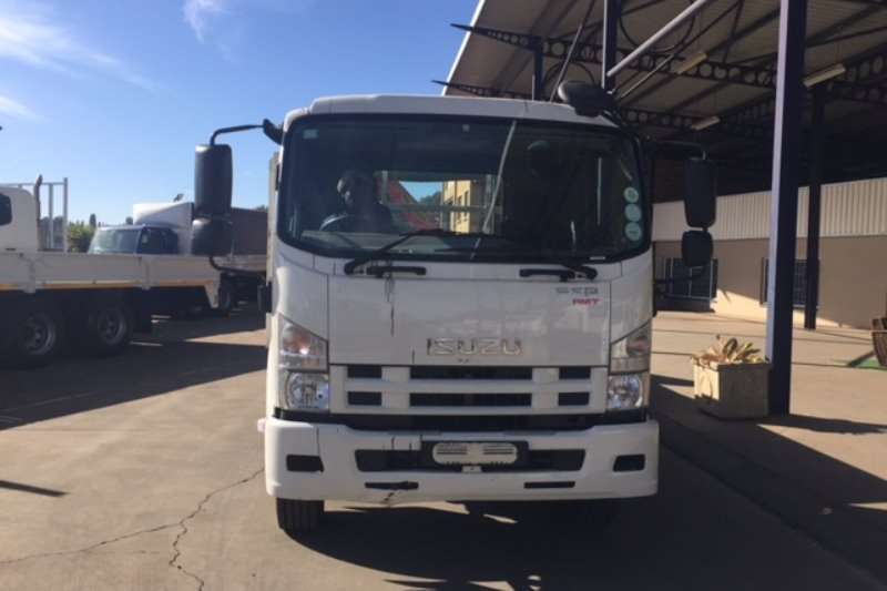 Isuzu Crane truck FSR 800 AMT with Palfinger PK10000 crane Truck