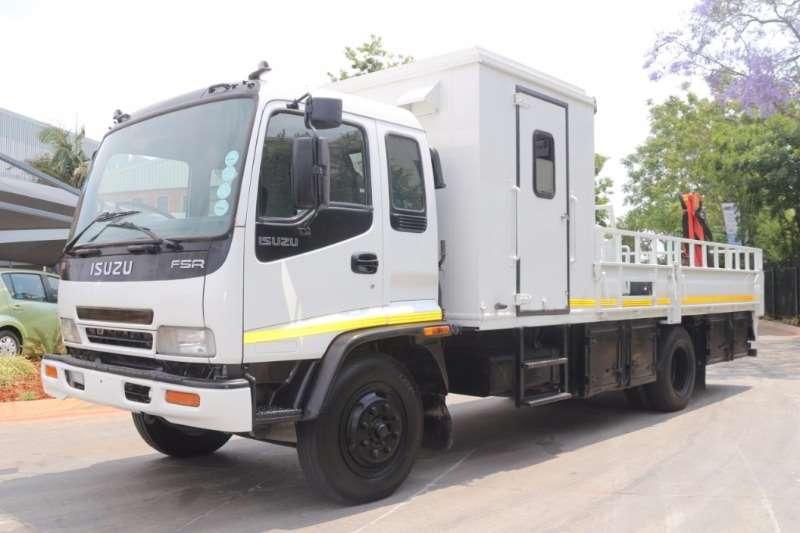 Truck Isuzu Crane Truck FSR700 with Palfinger PC1500 Crane 2009