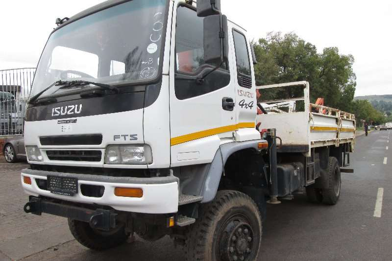Isuzu Crane truck FTS Truck