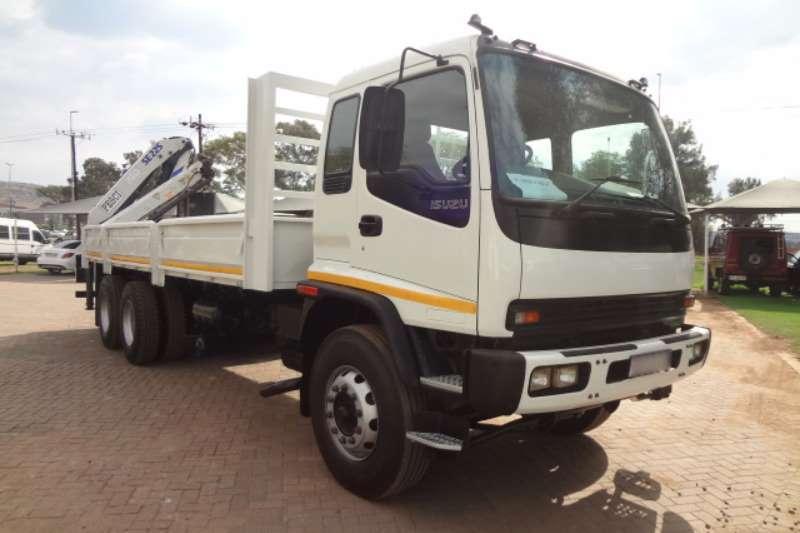 Isuzu Crane truck FVZ1400 D/S Rear mounted Pesci SE225 Crane Truck