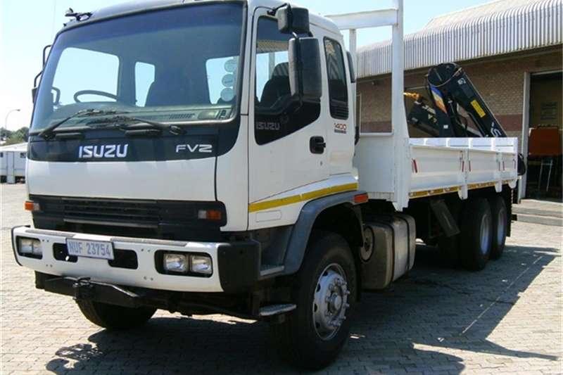 Truck Isuzu Crane Truck FVZ1400 HAIB 166XS CRANE 2004