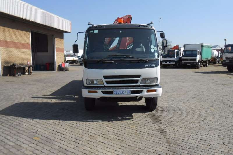 Isuzu Crane truck ISUZU FTR800 DROPSIDE WITH FASSI 9.5 CRANE Truck