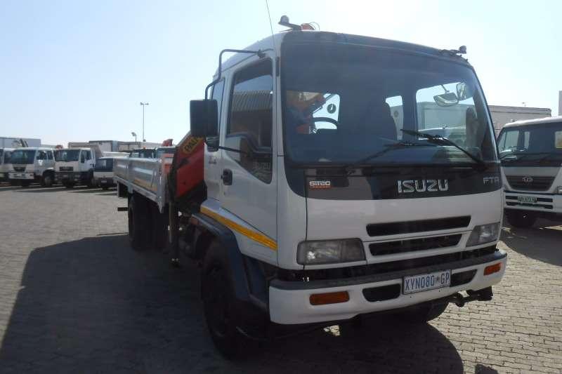 Isuzu Crane truck ISUZU FTR800 DROPSIDE WITH PALFINGER PK12000 CRANE Truck