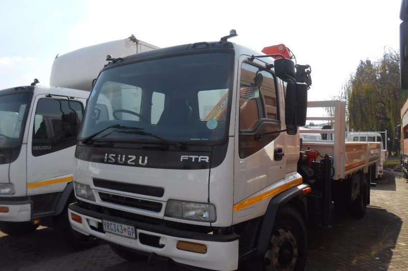 Isuzu Crane truck ISUZU FTR800 WITHPK8500 CRANE Truck