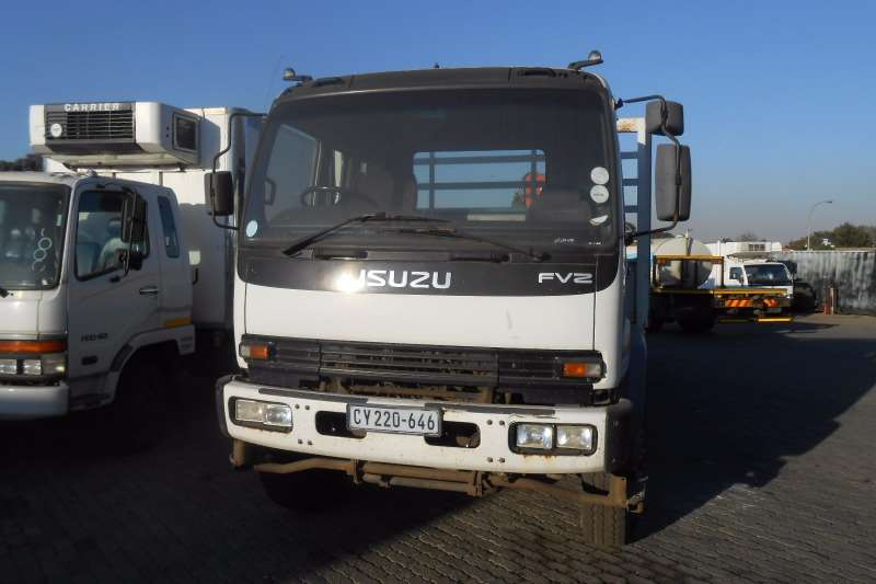 Isuzu Crane truck ISUZU FVZ 1400 DROPSIDE WITH PAL PK15500 CRANE Truck