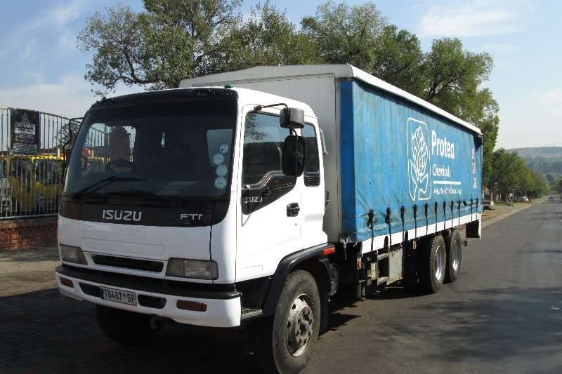Isuzu Curtain side FTM1200 Truck