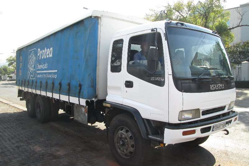 Truck Isuzu Curtain Side FTM1200 Freighter 2006
