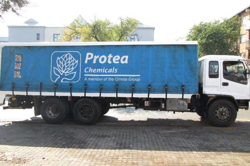 Isuzu Curtain side FTM1200 Freighter Truck