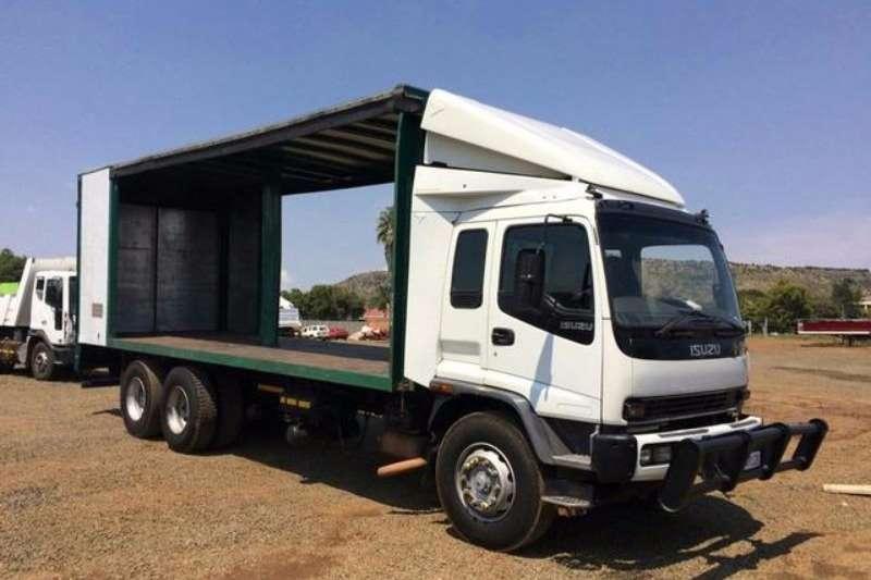 Isuzu Curtain side FVZ 1400 Truck