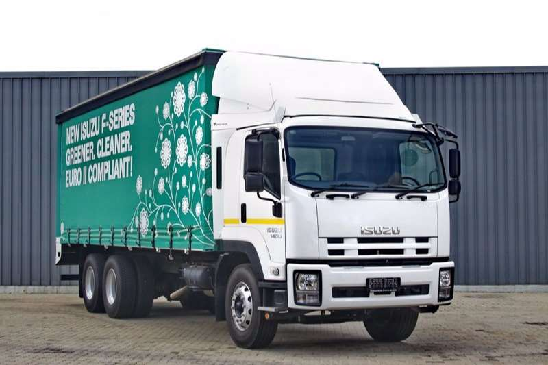 Isuzu Curtain side FVZ 1400 Auto Tautliner Body Truck