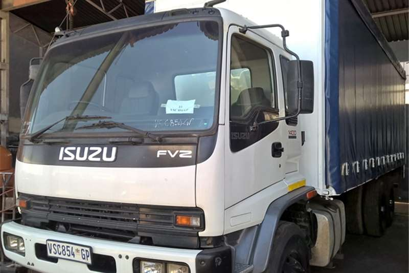 Truck Isuzu Curtain Side FVZ1400 2007