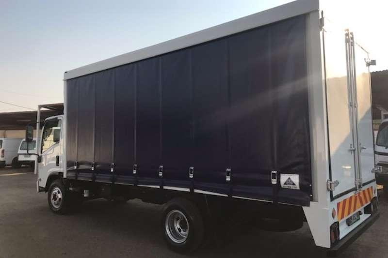 Isuzu Curtain side NPR 400 AMT Truck