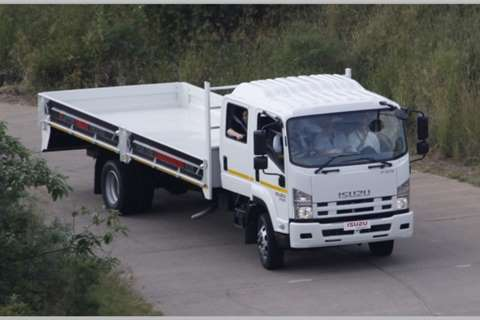 Isuzu Dropside FSR 750 Crew Cab AMT Truck