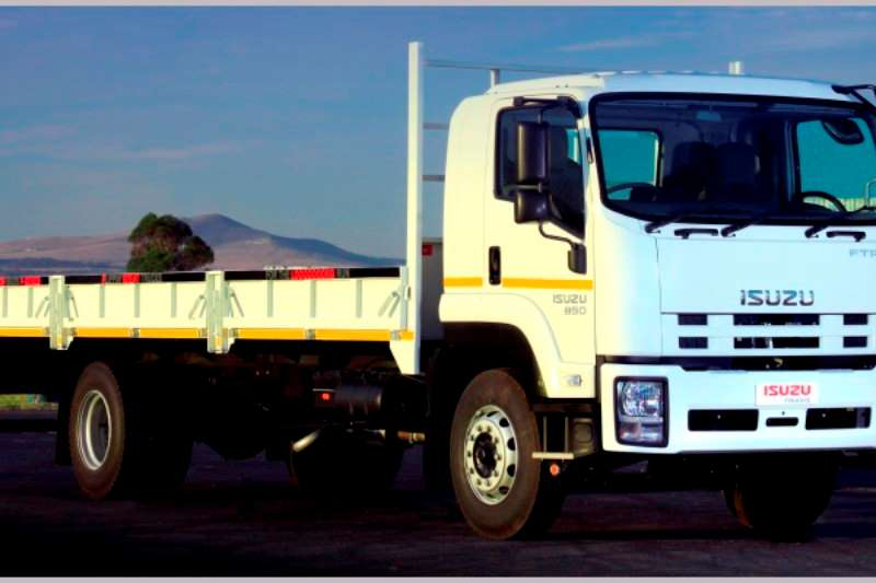 Isuzu Dropside FTR 850 Manual with drop side body and tow kit Truck