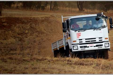 Isuzu Dropside FTS 750 4x4 Truck