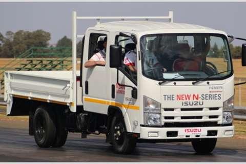 Isuzu Dropside NEW NMR 250 Crew Cab AMT Truck